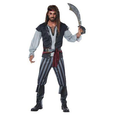 Scallywag Pirate Adult Costume