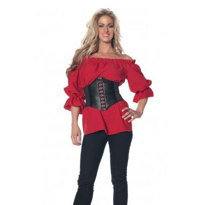 Medieval Red 3/4 Sleeve Shirt Adult