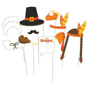 Thanksgiving Photo Props - 10 Pack