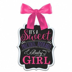 Sign Baby Shower Girl