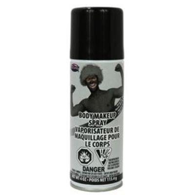 Body Spray Paint Black