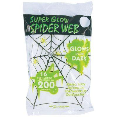 SUPER GLOW SPIDERWEBS 2.1OZ