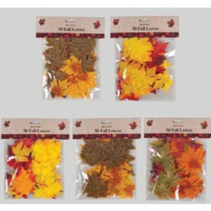Fall Leaves Assortment - 50 Pack