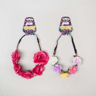 Floral Headbands - Assorted