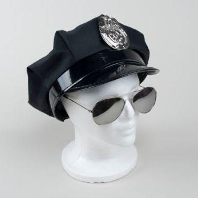 Hat Police W/ Badge