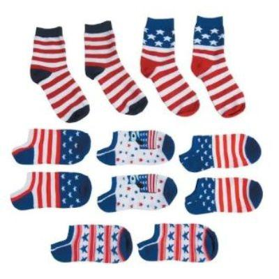 Patriotic Socks - Assorted