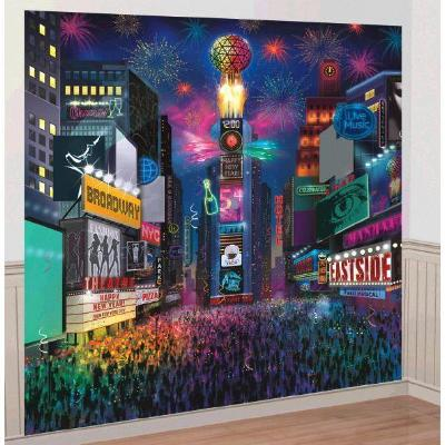 Times Square New Year's Deluxe Scene Setters Kit