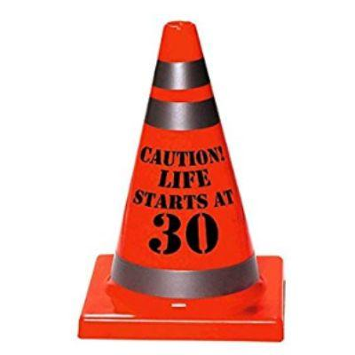 Traffic Cone Caution 30