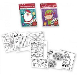 Christmas Coloring Set - Assorted