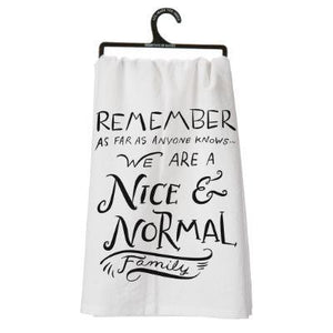 Nice & Normal Family Dish Towel