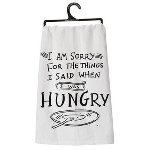 Hungry Dish Towel