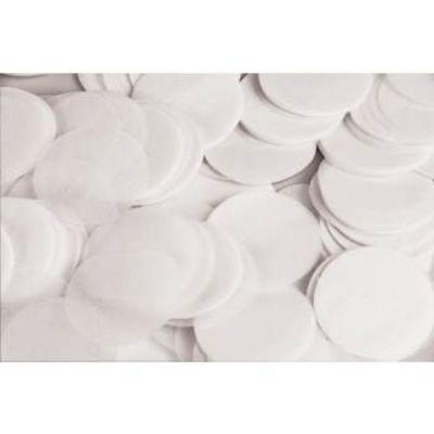 Confetti White Paper Dot .8oz