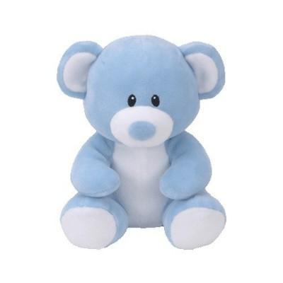 Baby Ty Lullaby Bear Blue