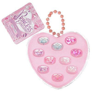 Princess Expressions Plastic Ring Set