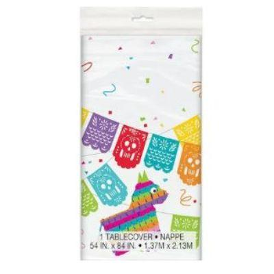 Mexican Fiesta Plastic Tablecover 54