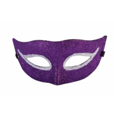 Glitter Half Mask- Assorted Colors