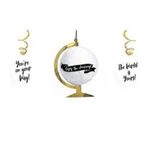 Graduation Hanging Decoration Kit - 3 Pack