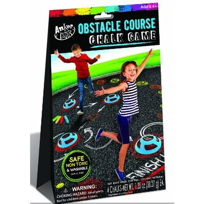 Obstacle Course Chalk Game