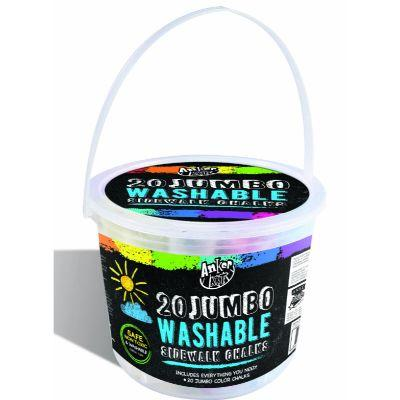 Sidewalk Chalk Jumbo Bucket Pk20