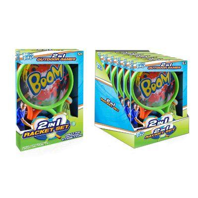 Boom 2in1 Racket Set