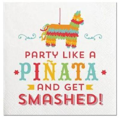 Party Like A Pinata Beverage Napkin - 20 Pack