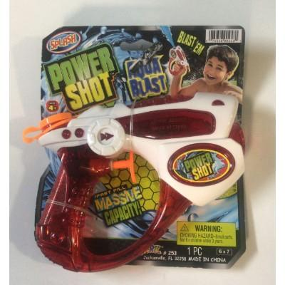 Power Shot Aqua Blast Water Gun