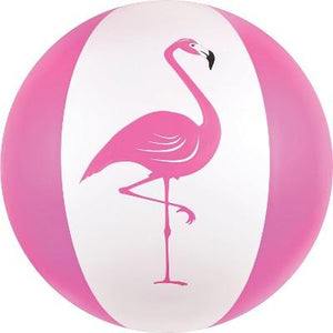 Flamingo Beach Ball 27""