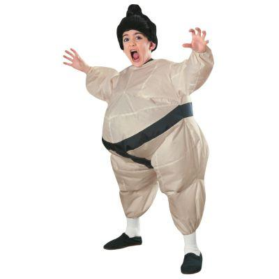 Sumo Inflatable Child Costume