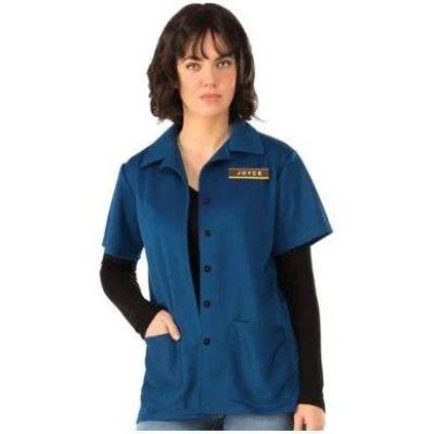Joyce Byers Work Shirt Adult Costume - Stranger Things
