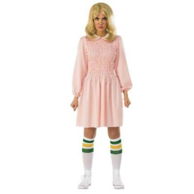 Stranger Things 11 Dress Adult Costume