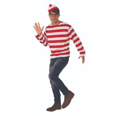 Where's Waldo? Adult Costume