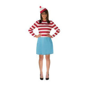 Where's Wenda Adult Costume - Where's Waldo?