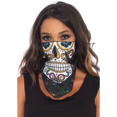 Sugar Skull Single Bandanna