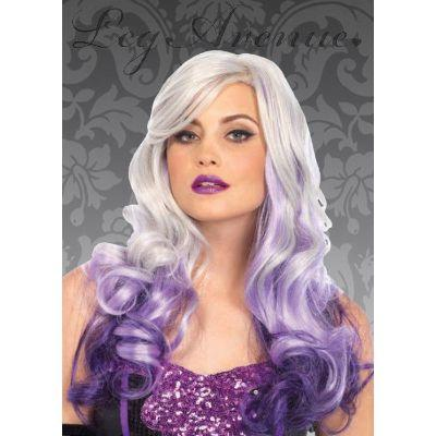 Multi Color Long Wavy Wig