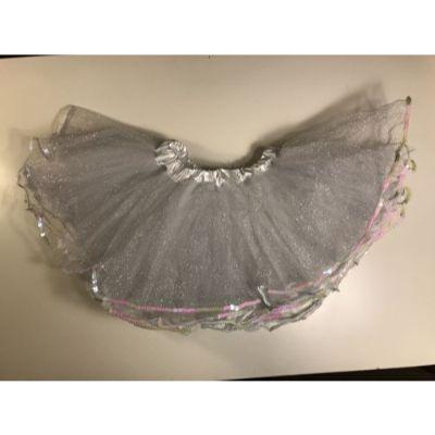 White Sequin Tutu Child