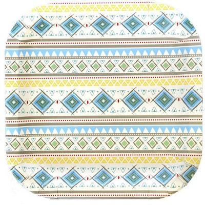 Adventure Blue Dinner Plate - 8 Pack