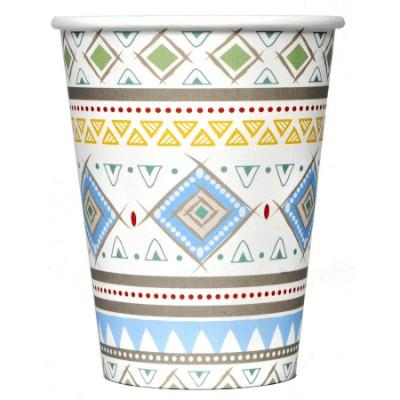 Adventure Blue Paper Cup - 8 Pack