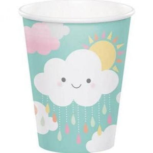 Sunshine Showers Paper Cup 9 oz. - 8 Pack