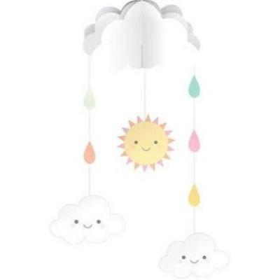 Sunshine Baby Shower Hanging Mobile Decoration