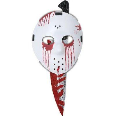 Slasher Knife With Child Hockey Mask