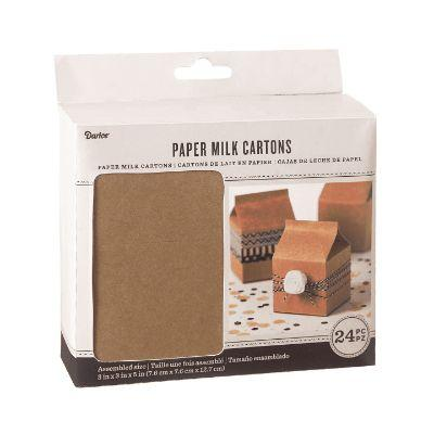 Carton Milk Favor Kraft Pk24