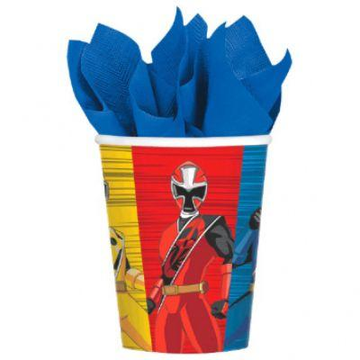 Power Ranger Cup 9oz 8 Pack
