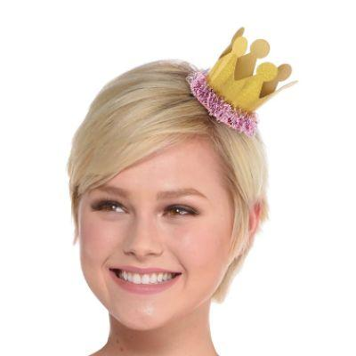 Confetti Fun Crown Hair Clip
