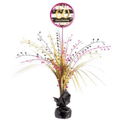 Pink & Gold 60 Centerpiece 18