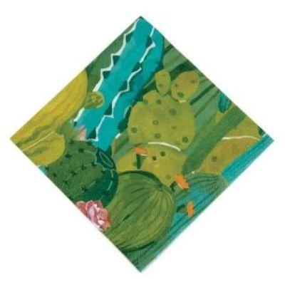 Cactus Luncheon Napkin - 8 Pack