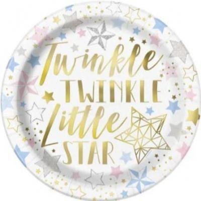 Twinkle Little Star Dinner Plate - 8 Pack
