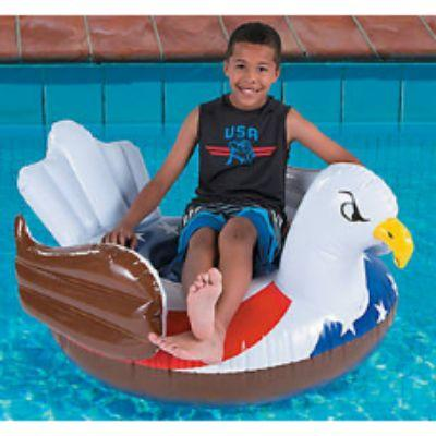 Patriotic Bald Eagle Pool Float