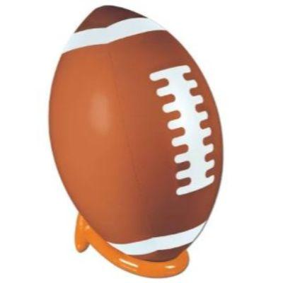 Inflatable Football & Tee Set 3'