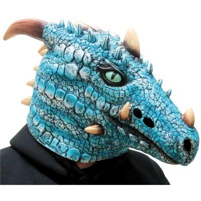 Winter Ice Dragon Adult Mask