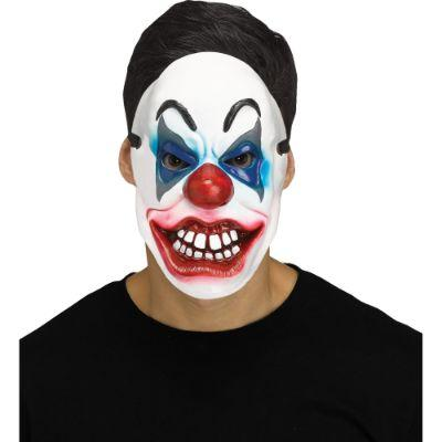 Killer Clown With Teeth Adult Mask